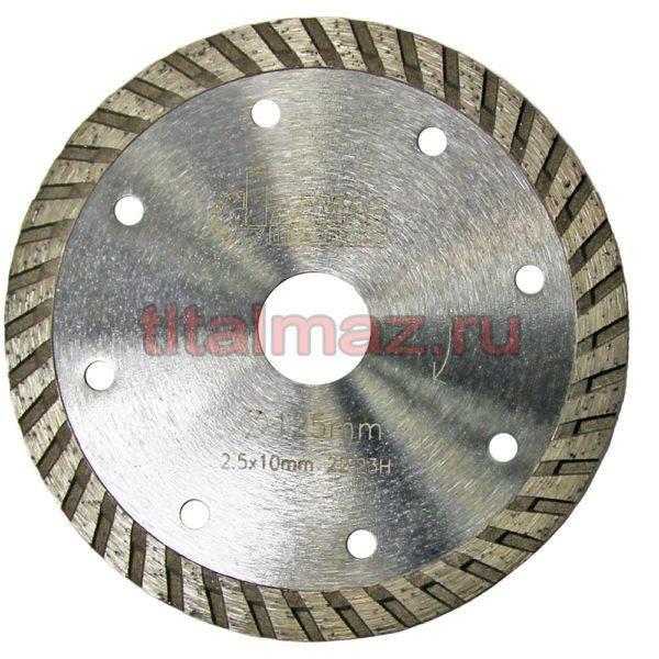 Алмазные отрезные диски по граниту Turbo